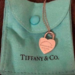 Tiffany & Co Heart Lock Necklace